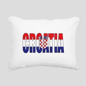 Croatia Rectangular Canvas Pillow