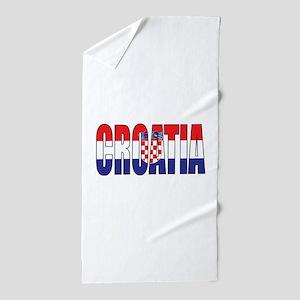 Croatia Beach Towel