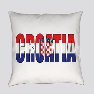 Croatia Everyday Pillow