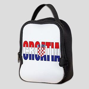 Croatia Neoprene Lunch Bag