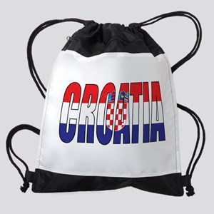 Croatia Drawstring Bag