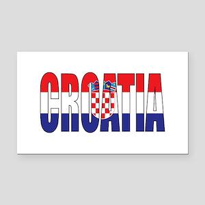 Croatia Rectangle Car Magnet