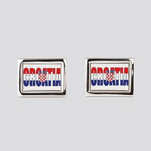 Croatia Rectangular Cufflinks