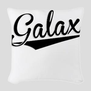 Galax, Retro, Woven Throw Pillow