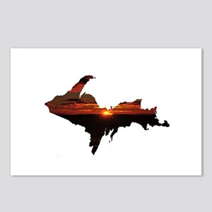 U.P. Sunrise Postcards (Package of 8)