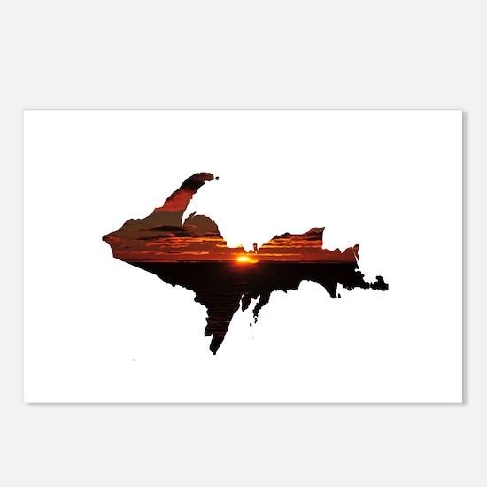 U.P. Sunrise Postcards (Package of 8)