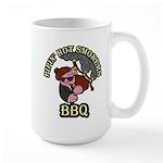 Pipin Hot Smokers Pig Logo Mugs