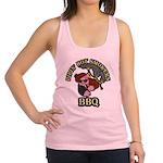 Pipin Hot Smokers Pig Logo Racerback Tank Top