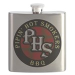 PHS Round logo Flask