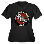 PHS Round logo Plus Size T-Shirt