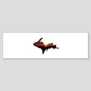 U.P. Sunrise Bumper Sticker