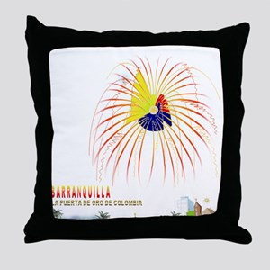 Barranquilla Throw Pillow