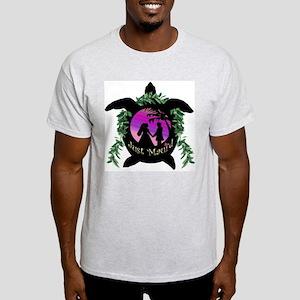 Just Maui'd Honu Logo Light T-Shirt