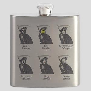 The Grim Reaper Flask