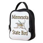 Minnesota State Bird Neoprene Lunch Bag