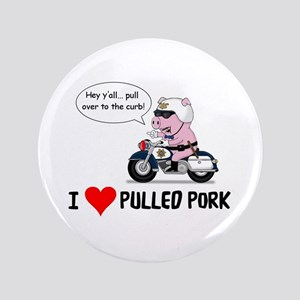 "I Heart Pulled Pork 3.5"" Button"