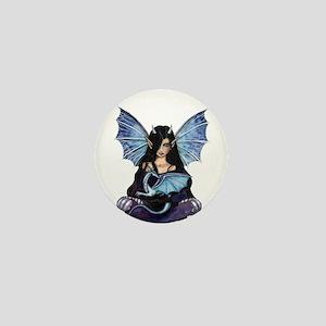 Sapphire Dragon Gothic Fairy Fantasy ARt Mini Butt