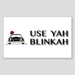 Use Yah Blinkah Sticker