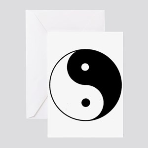 Yin Yang I-Ching Tao Greeting Cards (Pk of 10)