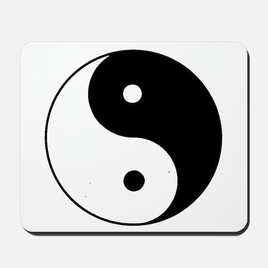Yin Yang I-Ching Tao Mousepad