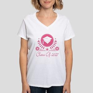Class of 2027 Women's V-Neck T-Shirt