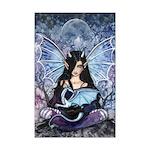 Sapphire Dragon Fairy Gothic Fantasy Art Posters