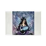 Sapphire Dragon Fairy Gothic Fantasy Art Magnets