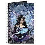Sapphire Dragon Fairy Gothic Fantasy Art Journal