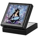 Sapphire Dragon Fairy Gothic Fantasy Art Keepsake
