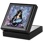 Sapphire Dragon Fairy Gothic Fantasy Art Keepsake
