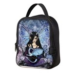 Sapphire Dragon Fairy Gothic Fantasy Art Neoprene