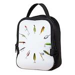 Fishing Lure Neoprene Lunch Bag