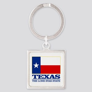 Texas State Flag Keychains