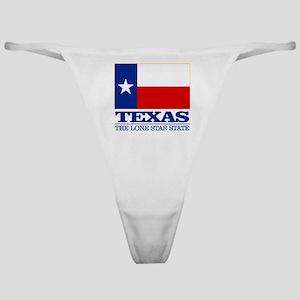 Texas State Flag Classic Thong