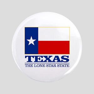"Texas State Flag 3.5"" Button"