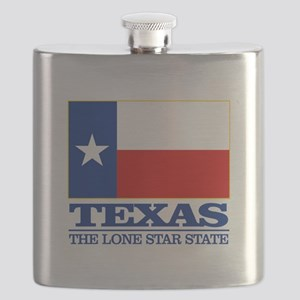 Texas State Flag Flask