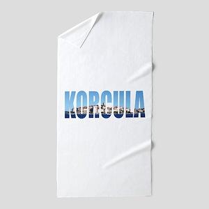 Korcula Beach Towel