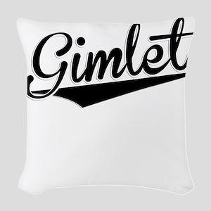 Gimlet, Retro, Woven Throw Pillow