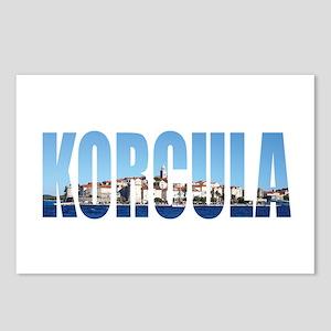 Korcula Postcards (Package of 8)