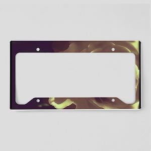 Rose - Twilight Time License Plate Holder