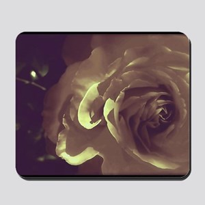 Rose - Twilight Time Mousepad