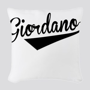 Giordano, Retro, Woven Throw Pillow