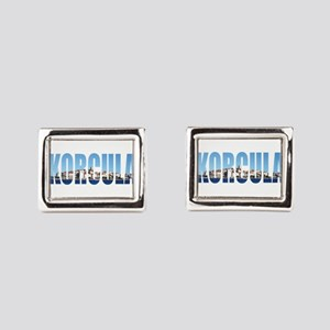 Korcula Rectangular Cufflinks