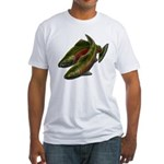 Save Our Salmon Fitted T-Shirt