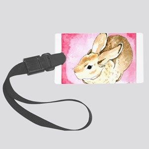 Daily Doodle 1 Red Mini Rex Luggage Tag