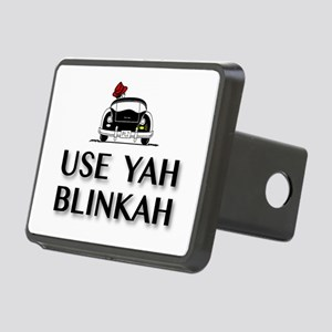 Use Yah Blinkah Hitch Cover
