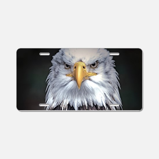 Bald Eagle Aluminum License Plate