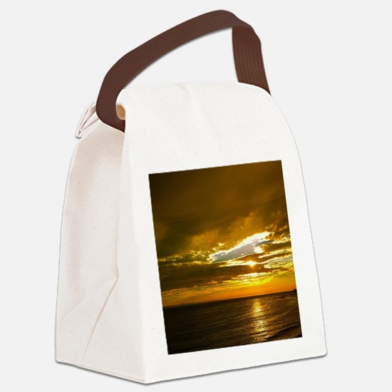 Golden Days Canvas Lunch Bag