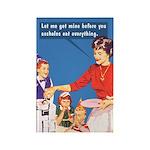 Let Me Get Mine. By Bluntcard Magnets