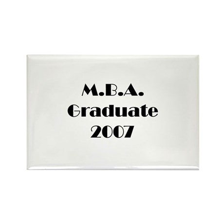 MBA Graduate 2007 Rectangle Magnet (10 pack)